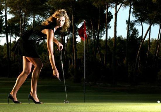高尔夫澳洲球员安娜-劳森靓照