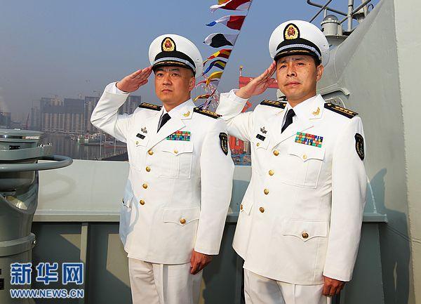 中国首艘航母舰长张峥的成长故事(图)