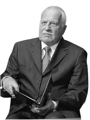71岁的捷克总统克劳斯