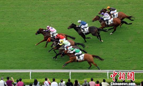 香港举行国庆赛马日活动(图)