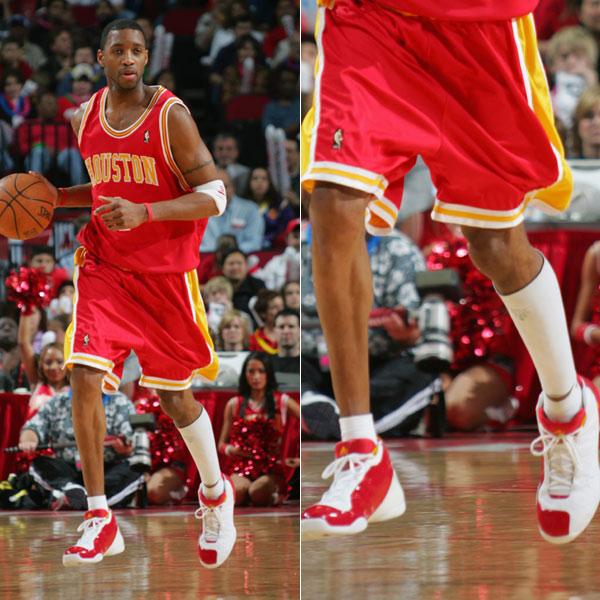 西 麦克格雷蒂NBA生涯球鞋盘点图片