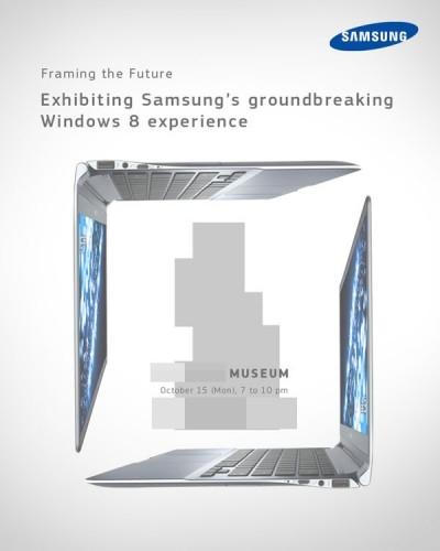 三星发出邀请函 或于15日发布Windows 8超极本