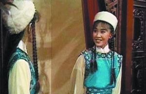 1983年,刘嘉玲在《射雕英雄传》中饰演侍女