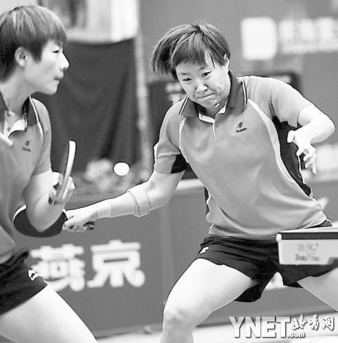 乒乓球全锦赛