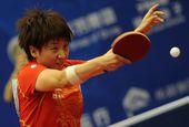 图文:2012乒乓球全锦赛决赛 杨扬飒爽英姿