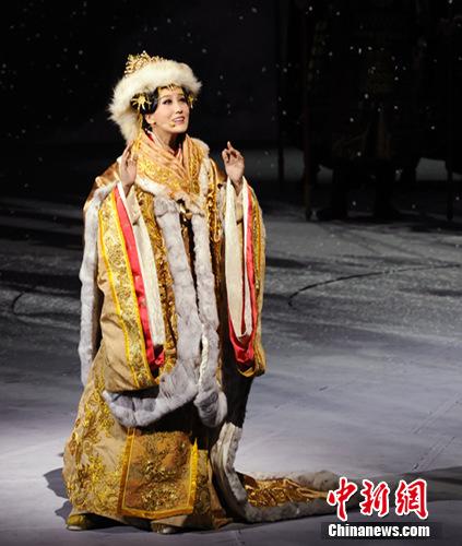 《文成公主》席卷京城 谭晶表演HOLD住舞台