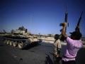 利比亚反对派攻入首都