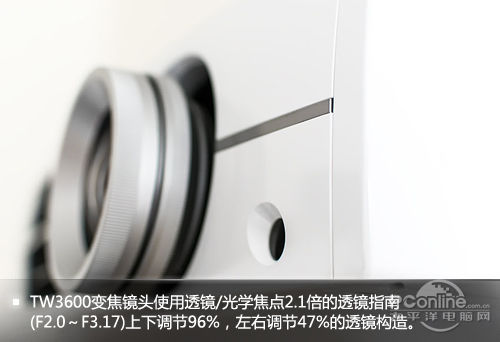 爱普生EH-TW3600细节特写