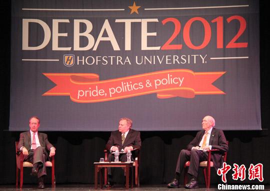 美国两党高官率先舌战 为奥巴马和罗姆尼辩论预热