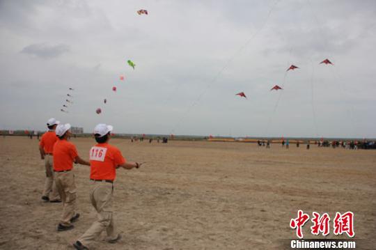 江苏如东举办国际风筝会 繁荣群众文体事业(图)