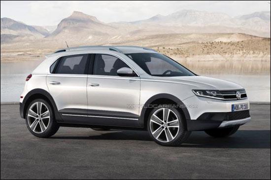 大众将推两款新SUV 中型7座SUV 小型SUV高清图片