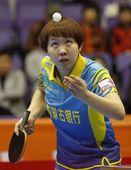 图文:乒超北京女团3-1内蒙古 西瓜太郎朱雨玲