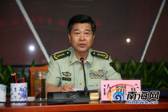 武警部队政治委员许耀元出席大会宣布命令并作指示.通讯员陈千学摄图片