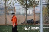 中超图:鲁能备战生死战 耿晓峰卖力训练