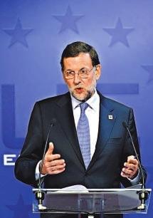 西班牙首相拉霍伊希望能削减赤字的目标,较2011年欧盟制定的还要多两倍