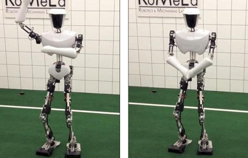 该机器人以电影《星球大战》机械人C-3PO为蓝本。