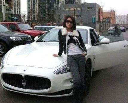 玛莎拉蒂车多少钱 玛莎拉蒂车多少钱一辆 郭晶晶开的玛莎高清图片