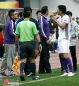 中超图:贵州1-1天津 教练指示