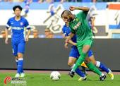 中超图:舜天0-0战平国安 卡努特突破
