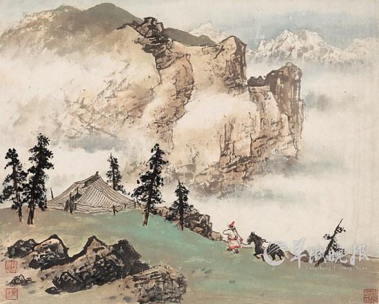 """百年关山月,国画""""现代化""""?(图)图片"""