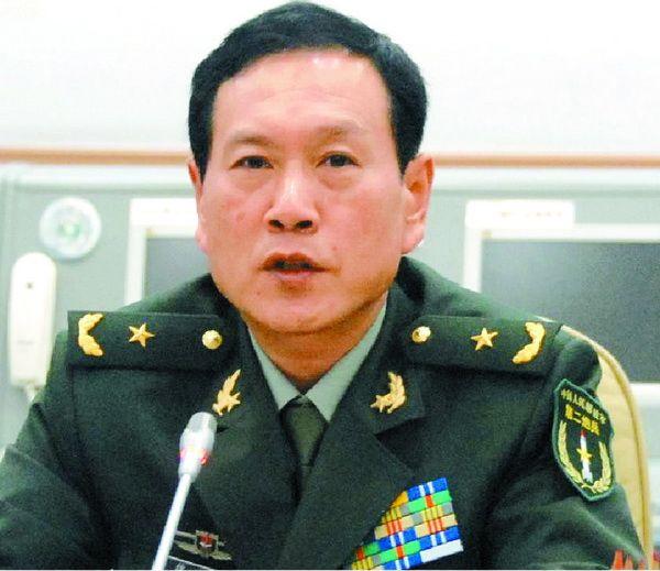 资料图:新任第二炮兵部队司令员魏凤和,此为少将时期照片。