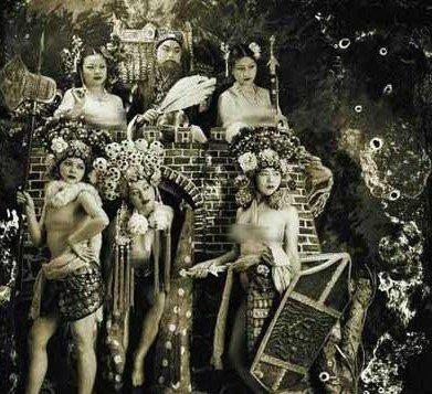 色情裸体艺术图片_裸体京剧摄影惹争议网友直呼色情大于艺术