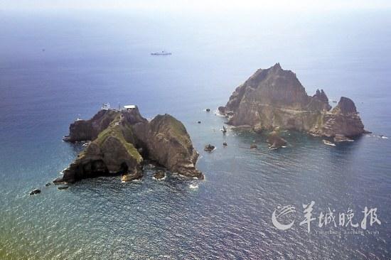 韩国更名独岛山峰宣示主权(图)