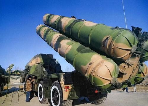 中国/资料图:中国红旗9防空导弹