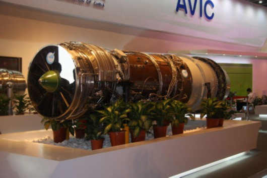 中国 发动机/我国自主研发的太行军用航空发动机