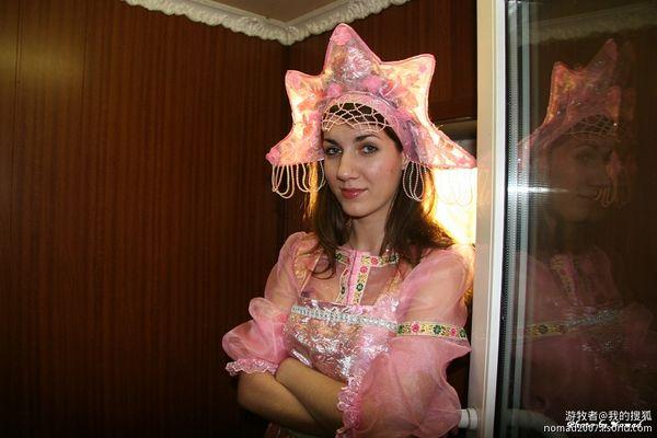 金发在阳光下飞舞 中国人眼中的俄罗斯美女 搜狐旅游