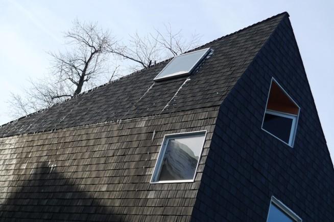 黑钻石别墅屋顶