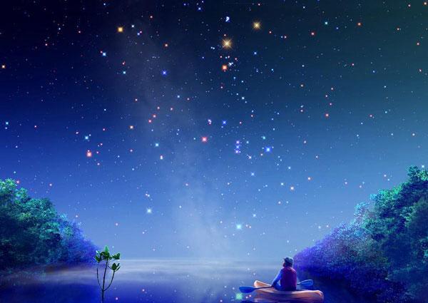 对于恒星来说,通常的颜色序列是:红色、橙色、黄色、白色和蓝色。