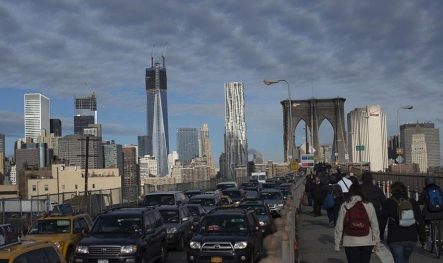 纽约曼哈顿停水停电 现大面积拥堵(图)图片