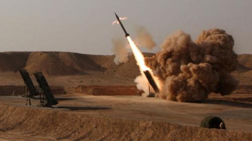 资料图:伊朗导弹