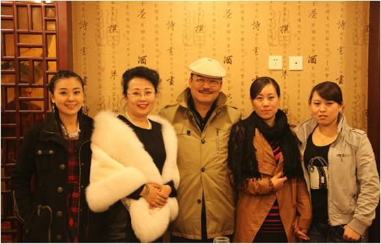 传承中国漫画水墨肖像漫画张汉忠再次喜收爱刚艺术图片