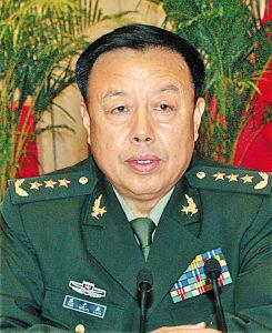 范长龙图片据解放军报