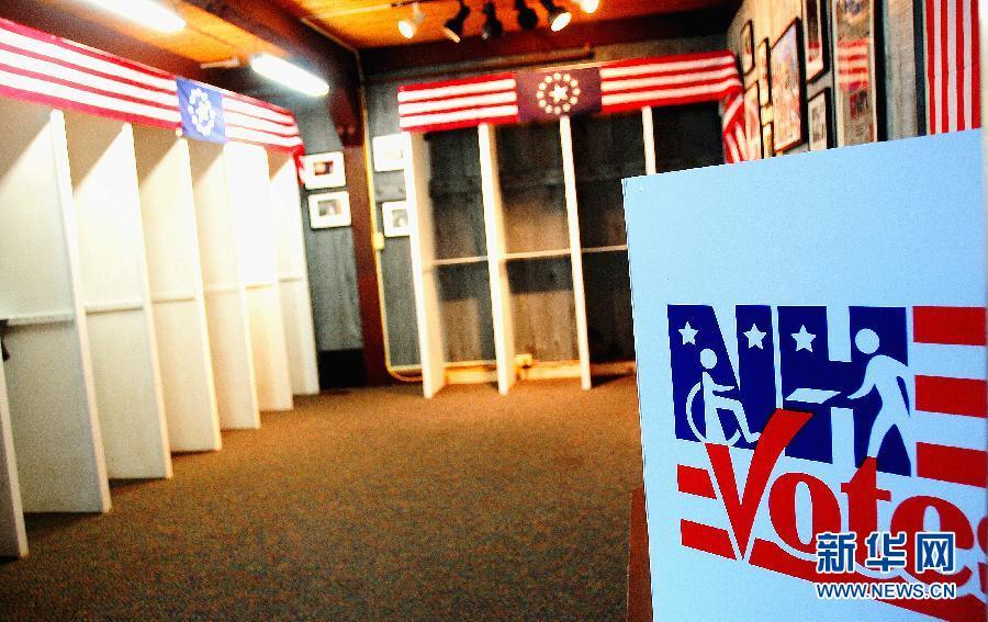 """投票前走进美国大选""""第一村"""""""