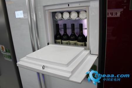 海尔BCD-628WACV冰箱吧台