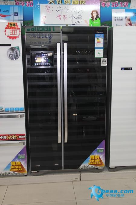 海信BCD-558WGBPET冰箱外观