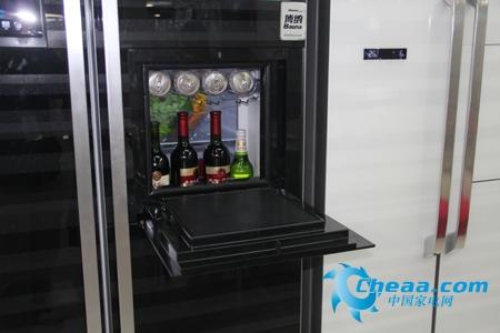 海信BCD-558WGBPET冰箱吧台