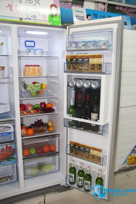 海信BCD-558WGBPET冰箱冷藏室