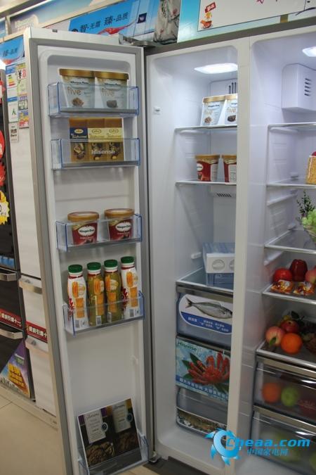 海信BCD-558WGBPET冰箱冷冻室