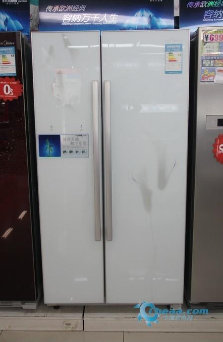 美的BCD-550WKGM冰箱整体外观