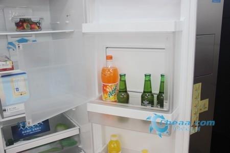 西门子KA63DV21TI冰箱吧台内部