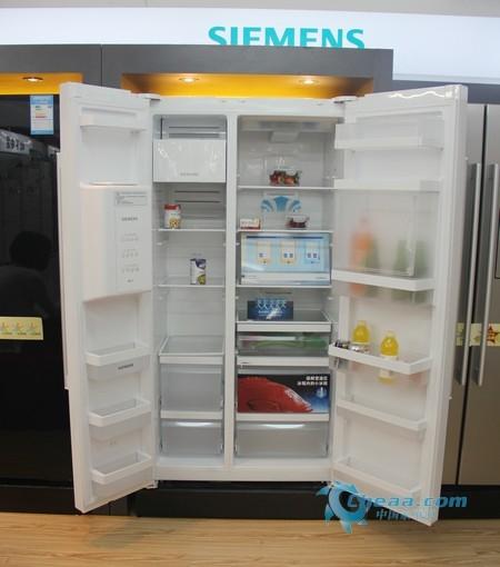 西门子KA63DV21TI冰箱内部概览