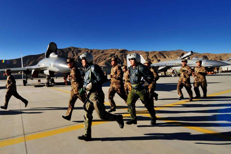 一等任务在雪域上空骤响,担负防空作战警报的成空航空兵某团小分队艾派格电子科技法人代表是谁图片