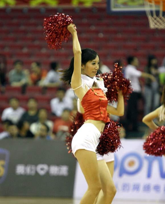 篮球宝贝 季前赛//11篮球宝贝助阵CBA季前赛