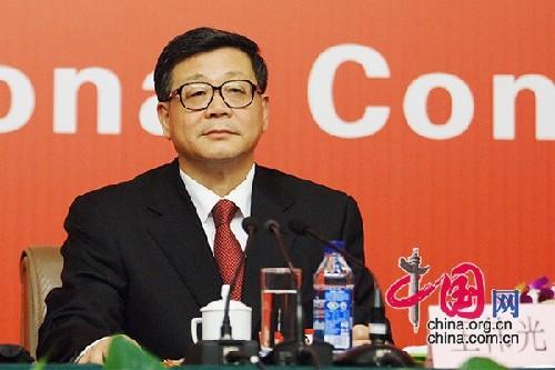 十八大代表、中国社会科学院常务副院长、哲学博士王伟光(摄影 中国网 高聪)