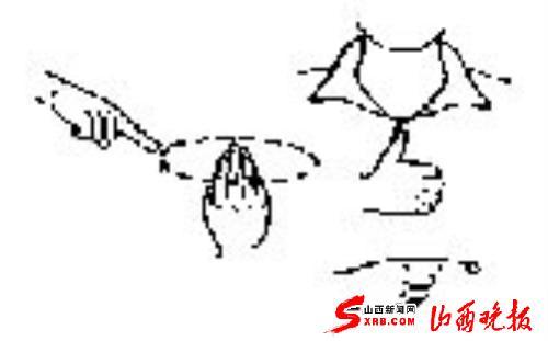 """手语校长画出""""美丽中国""""(图)"""