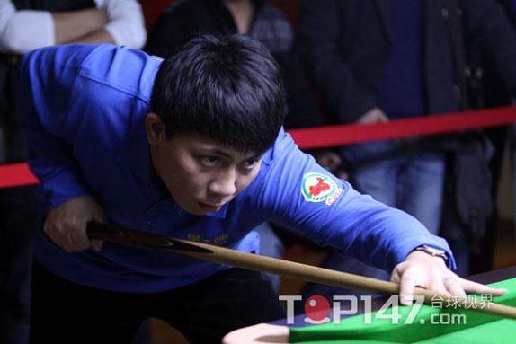 中式台球排名赛杭州站 郑宇伯惊险晋级图片